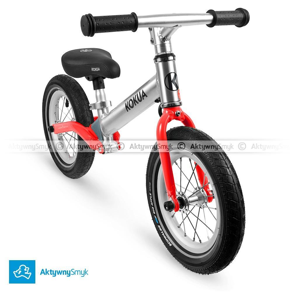 Amortyzowany rowerek biegowy LIKEaBIKE Jumper czerwony