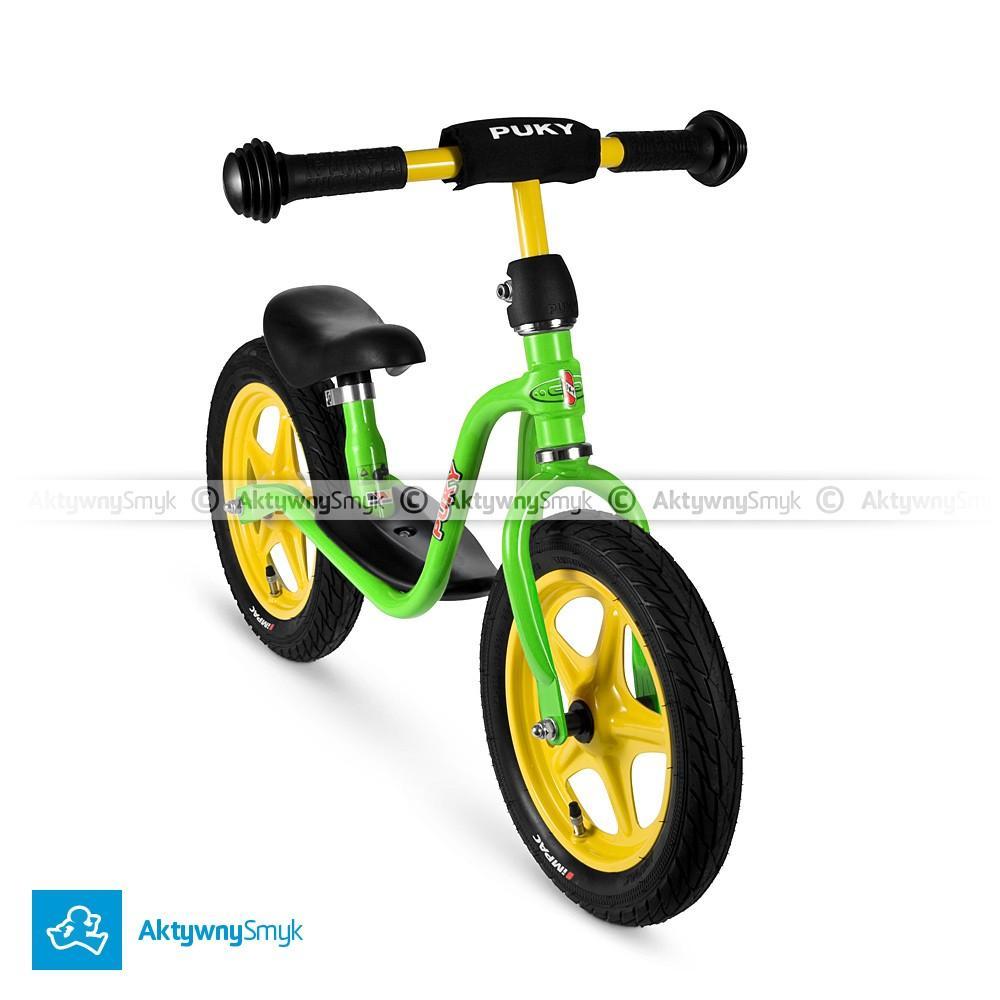 Rowerek biegowy Puky LR 1L zielony dla 2 latka, wzrost ponad 90 cm