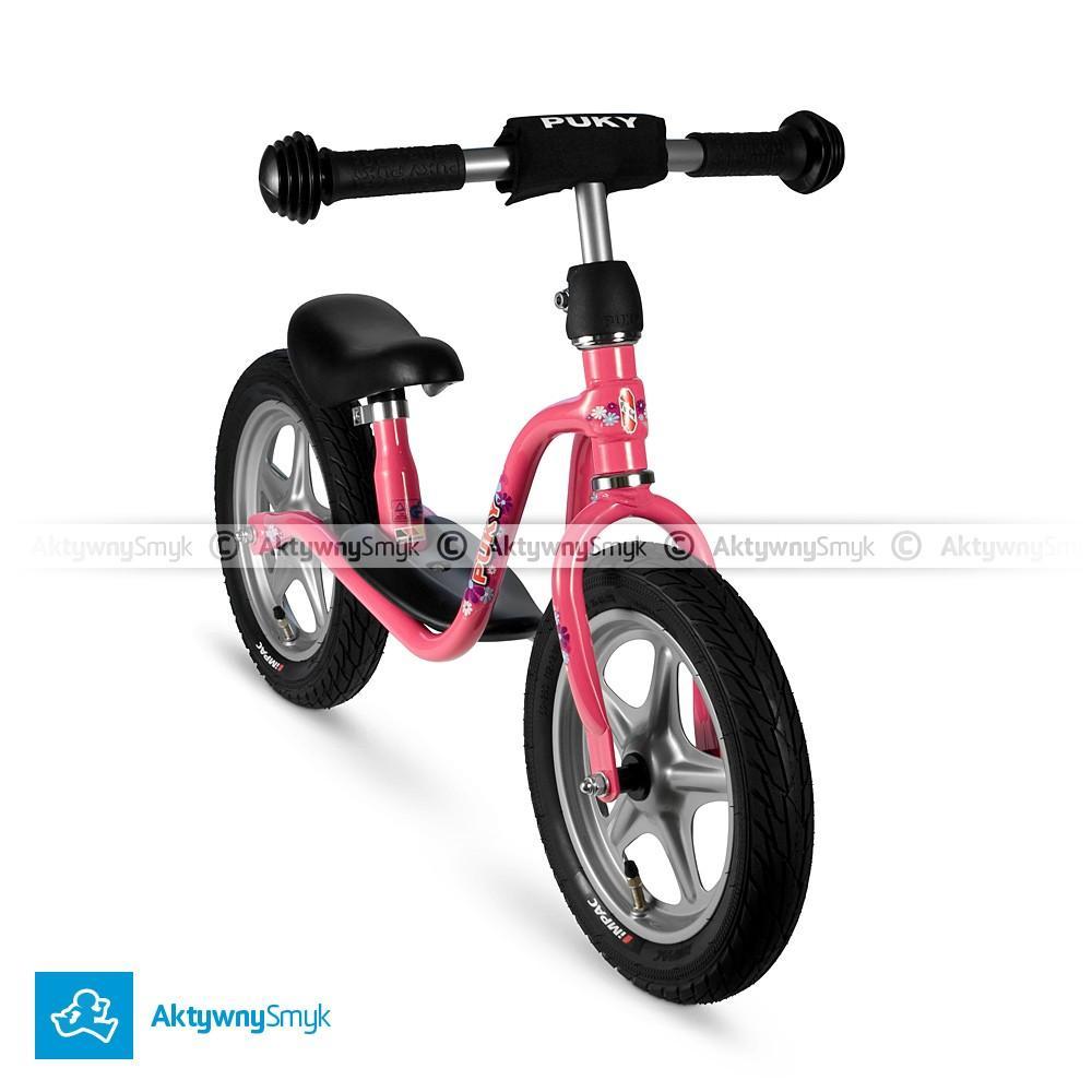 Różowy rowerek biegowy Puky LR 1L dla 2 latki