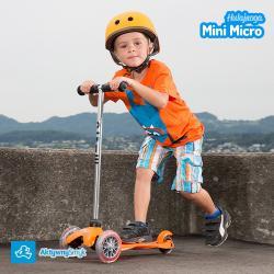 Pomarańczowa hulajnoga Mini Micro