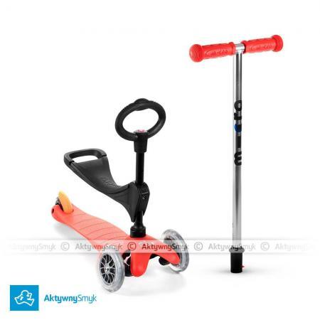 Mini Micro 3in1 (Baby Seat) - jeździk i hulajnoga Mini Micro czerwona