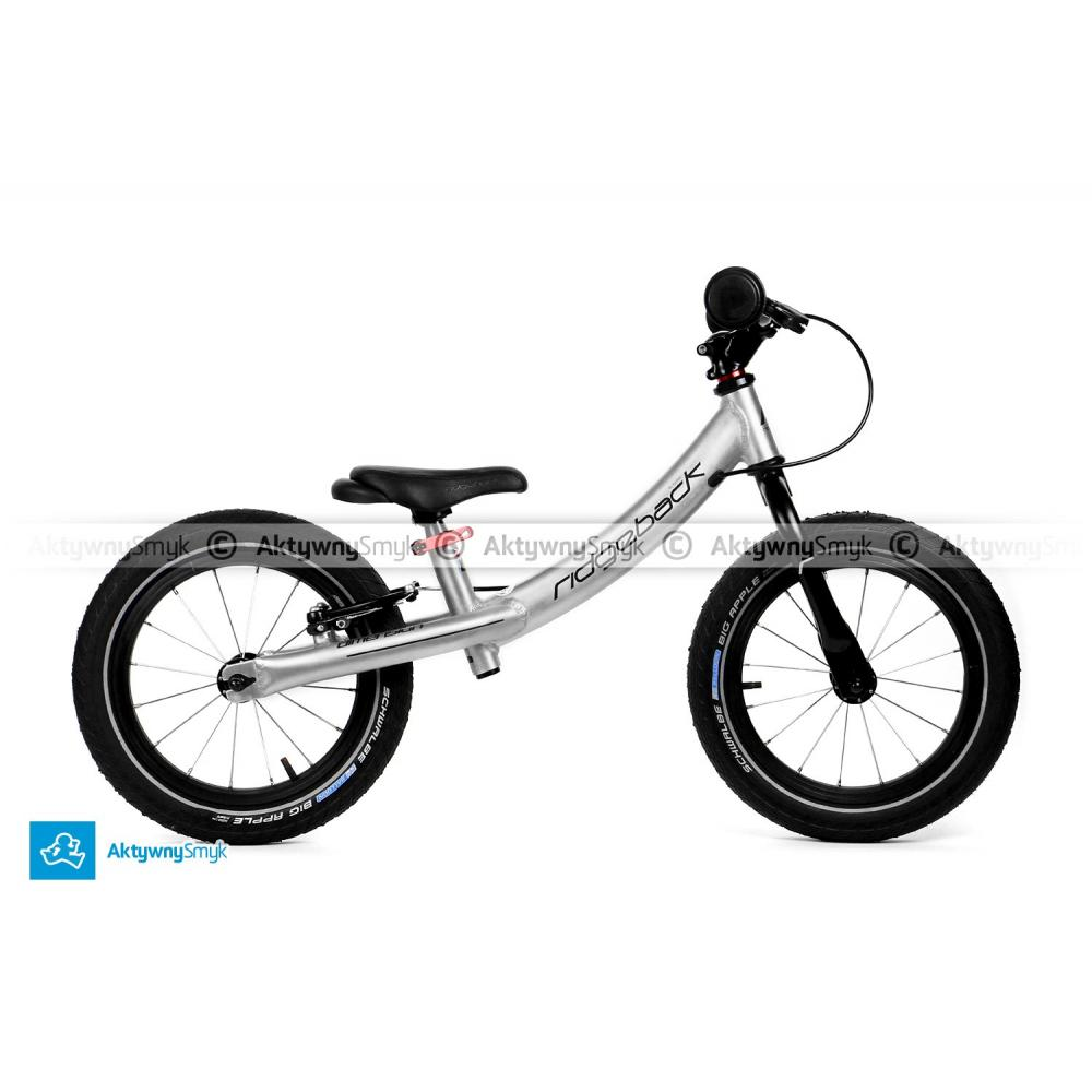 Duży (wzrost 100 cm, wiek ponad 3 lata) rowerek biegowy Ridgeback Dimension Runner XL