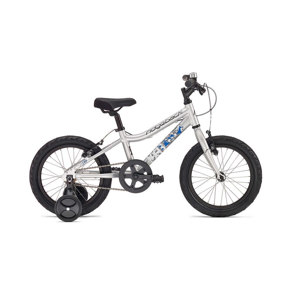 Rower Ridgeback MX16 srebrny