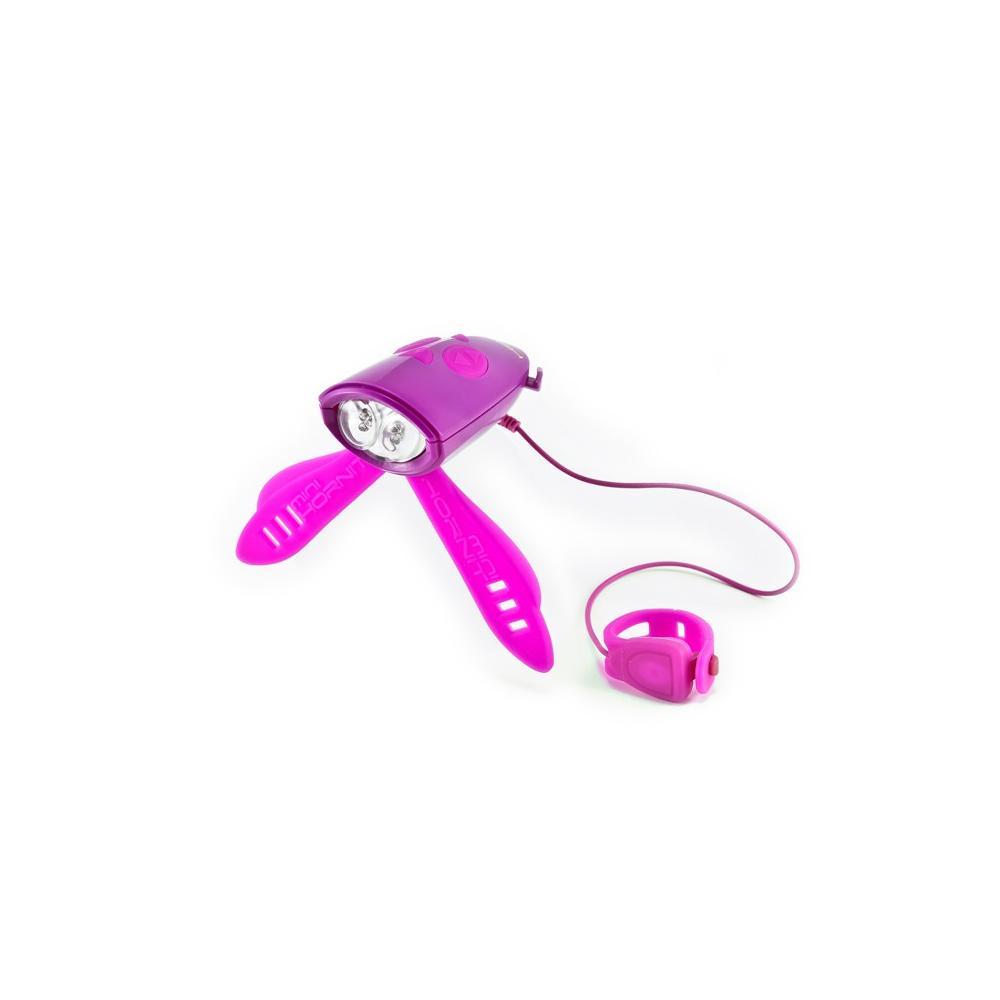 Różowy klakson Mini Hornit