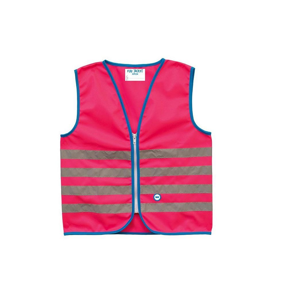 Kamizelka odblaskowa Wowow Fun Jacket różowa