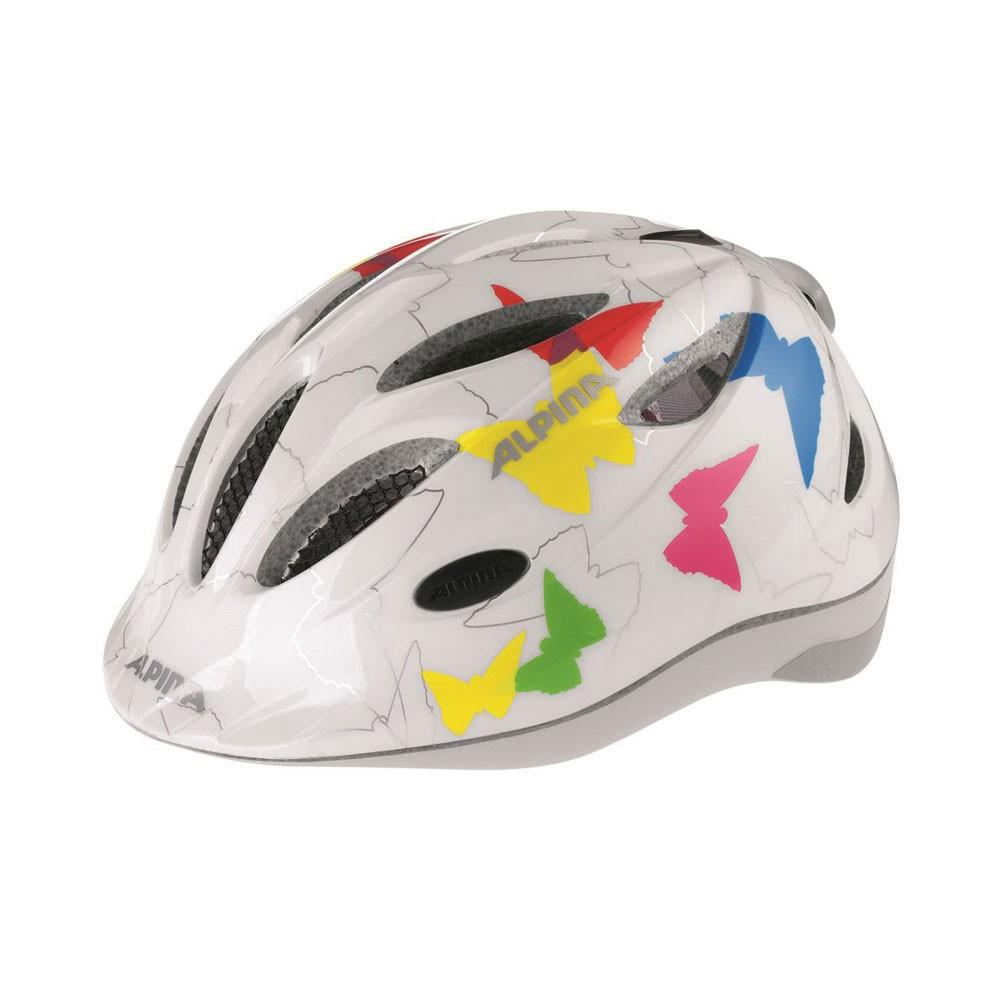 Kask Alpina Gamma Flash White Butterfly