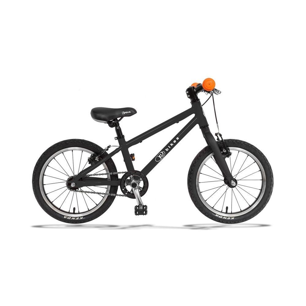 Lekki rower KUbikes 16 BASIC w kolorze czarnym