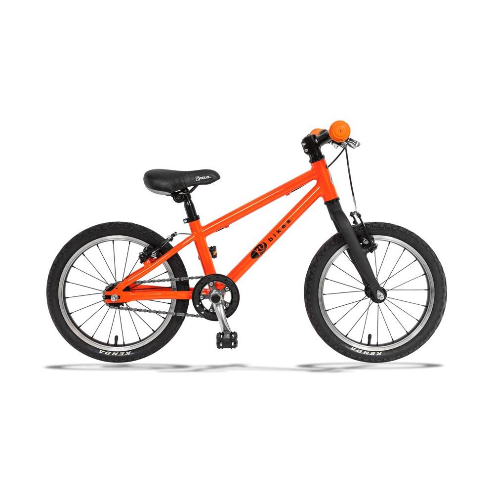 Lekki rower KUbikes 16 BASIC w kolorze pomarańczowym