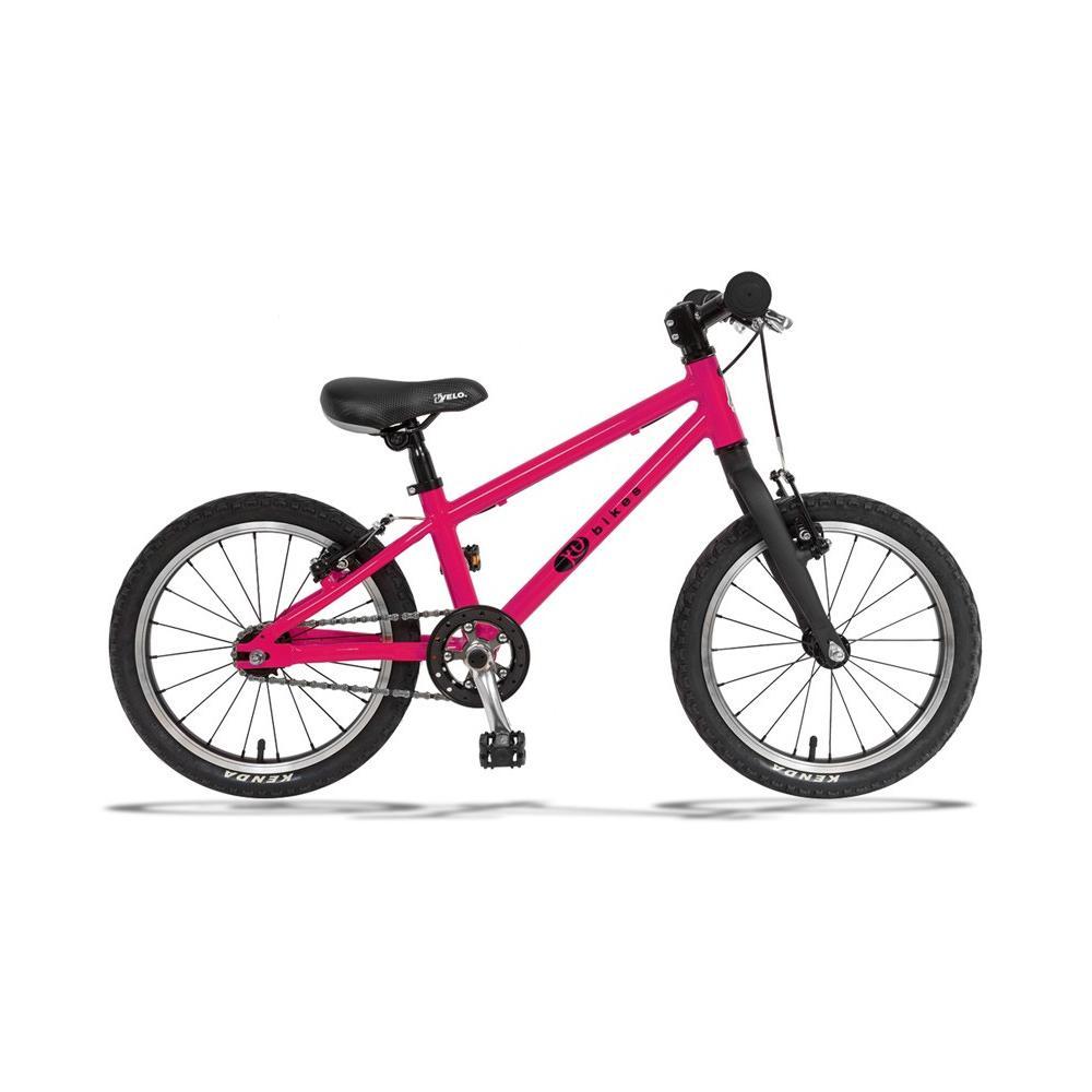 Lekki rower KUbikes 16 BASIC w kolorze różowym