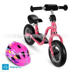 """Opinia o """"Różowy rowerek biegowy Puky LR M + kask Abus Rookie"""""""