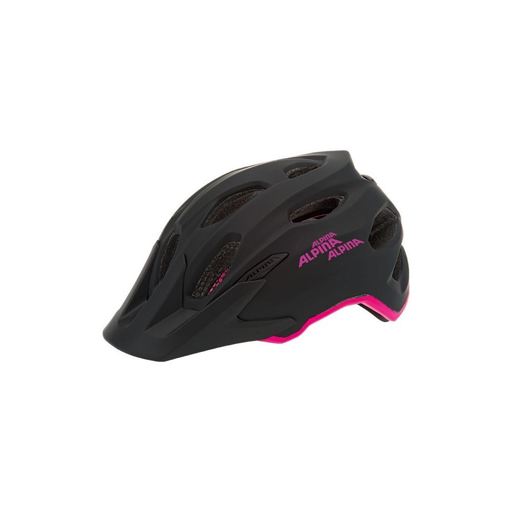 Kask dla dziecka Alpina Carapax Junior Black-Pink