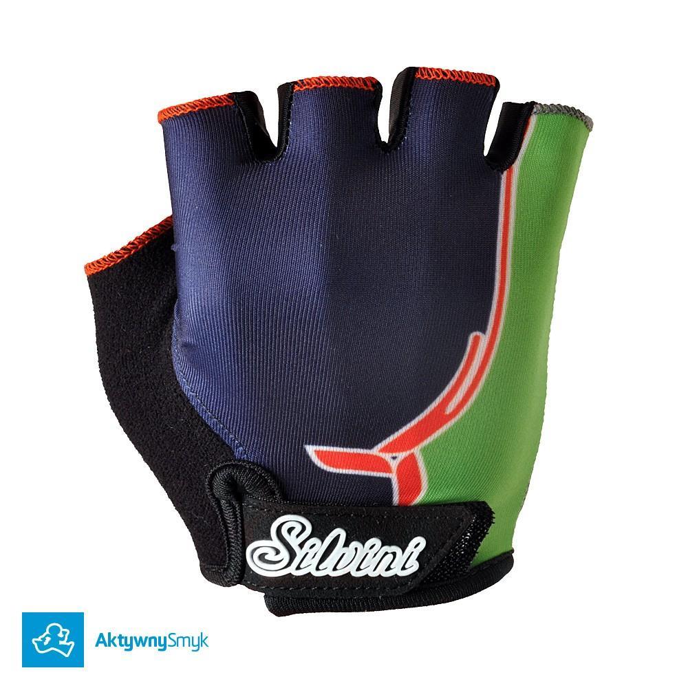 Rękawiczki Silvini Punta black-orange