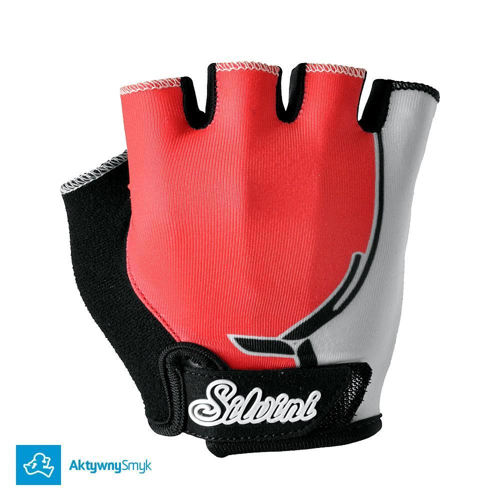 Rękawiczki Silvini Punta punch-white