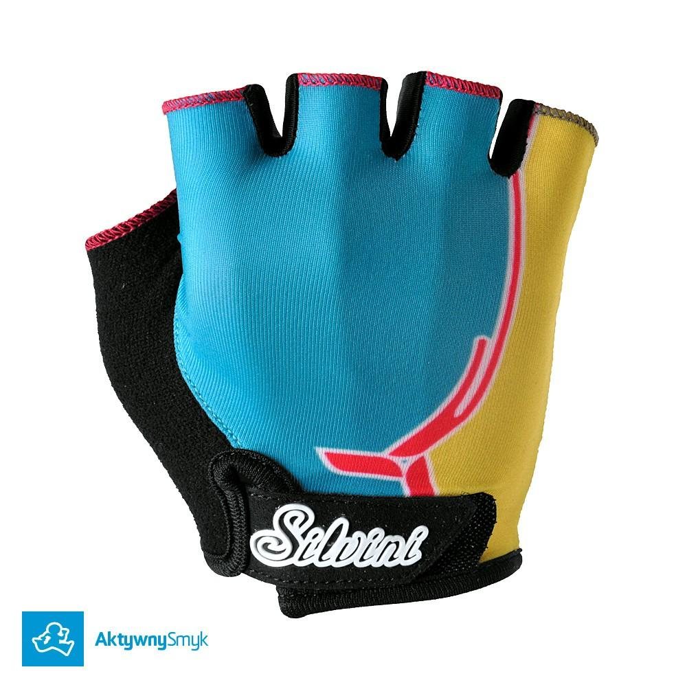 Rękawiczki Silvini Punta sky-yellow