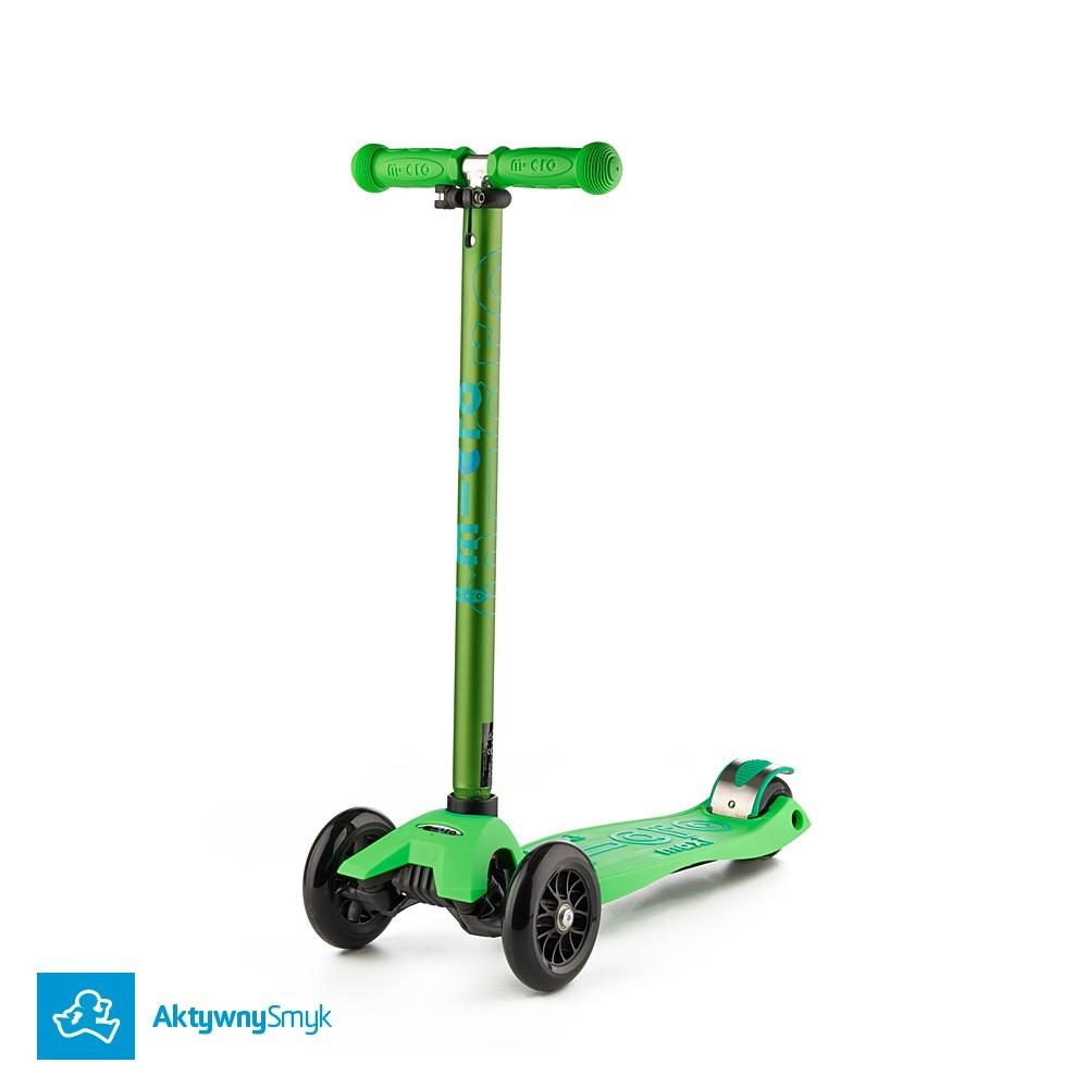 Zielona Hulajnoga Maxi Micro Deluxe