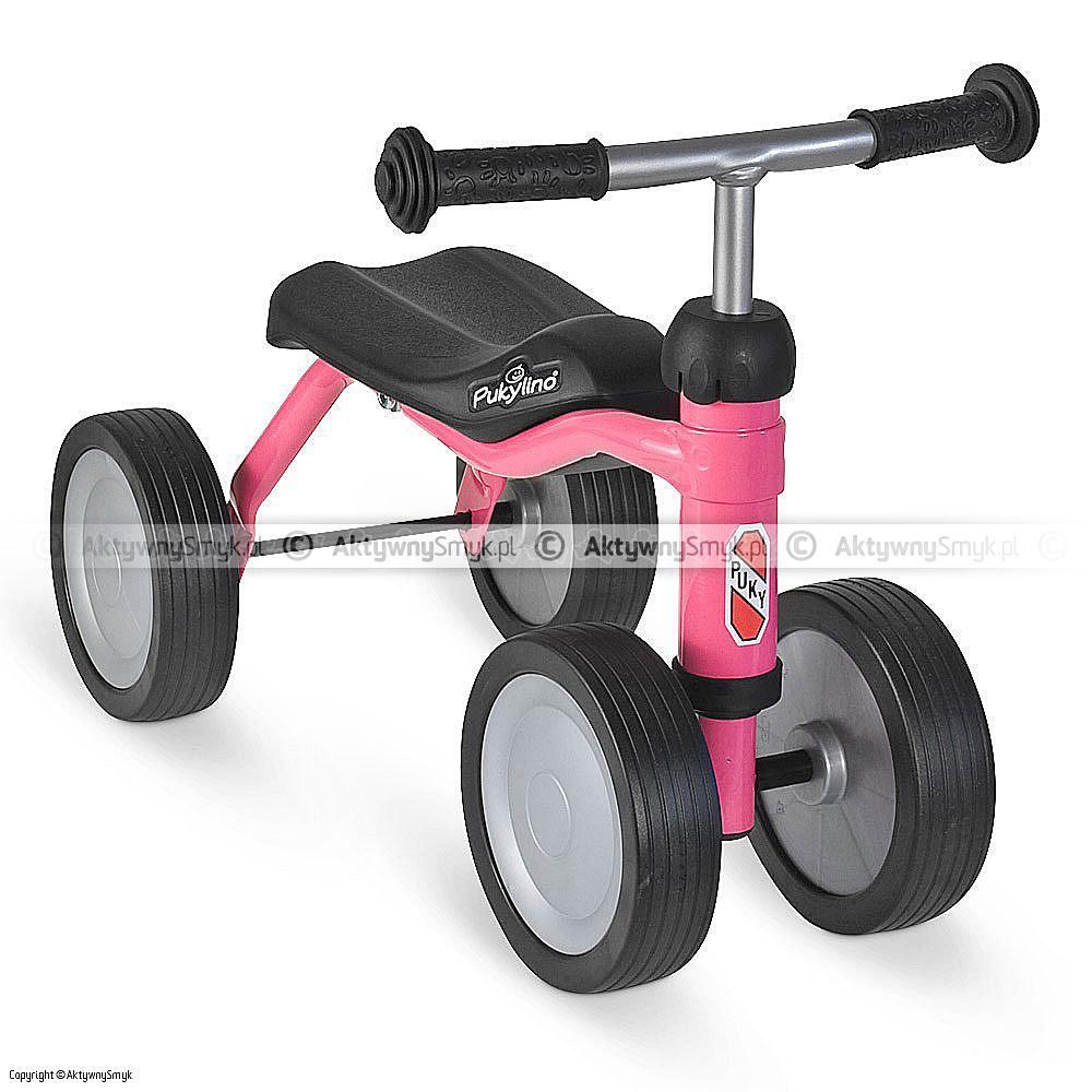Jeździk PUKYlino - różowy