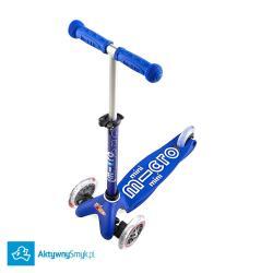 Niebieska Mini Micro 3in1 Deluxe - jeździk i hulajnoga Mini Micro Deluxe