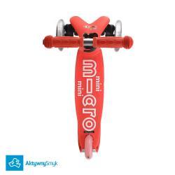 Hulajnoga Mini Micro Deluxe czerwona dla 2 latka
