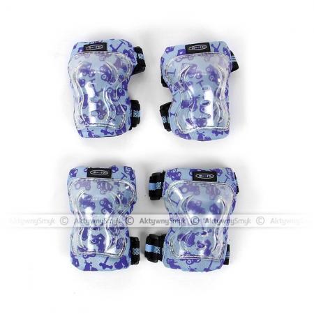 Ochraniacze Micro niebieskie