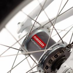 Automatyczna dwubiegowa piasta SRAM w rowerze WOOM 3 SRAM