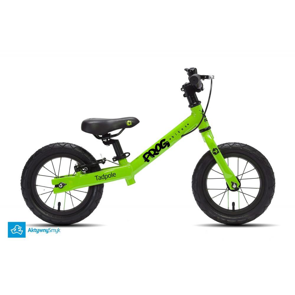 Zielony rowerek biegowy Frog Tadpole
