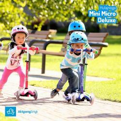 Dzieci na jeździku Mini Micro 3in1 Deluxe  - AktywnySmyk Warszawa