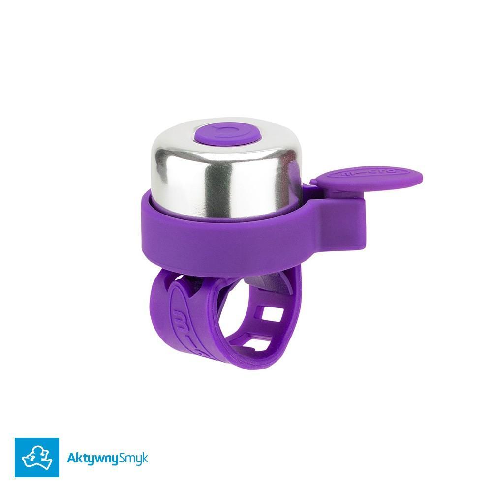 Dzwonek Micro floletowy