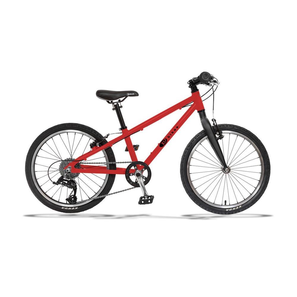 Lekki rower KUbikes 20 Basic-8 czerwony na kołach 20 cali, dla dziecka ok 120 cm, wiek 6 lat