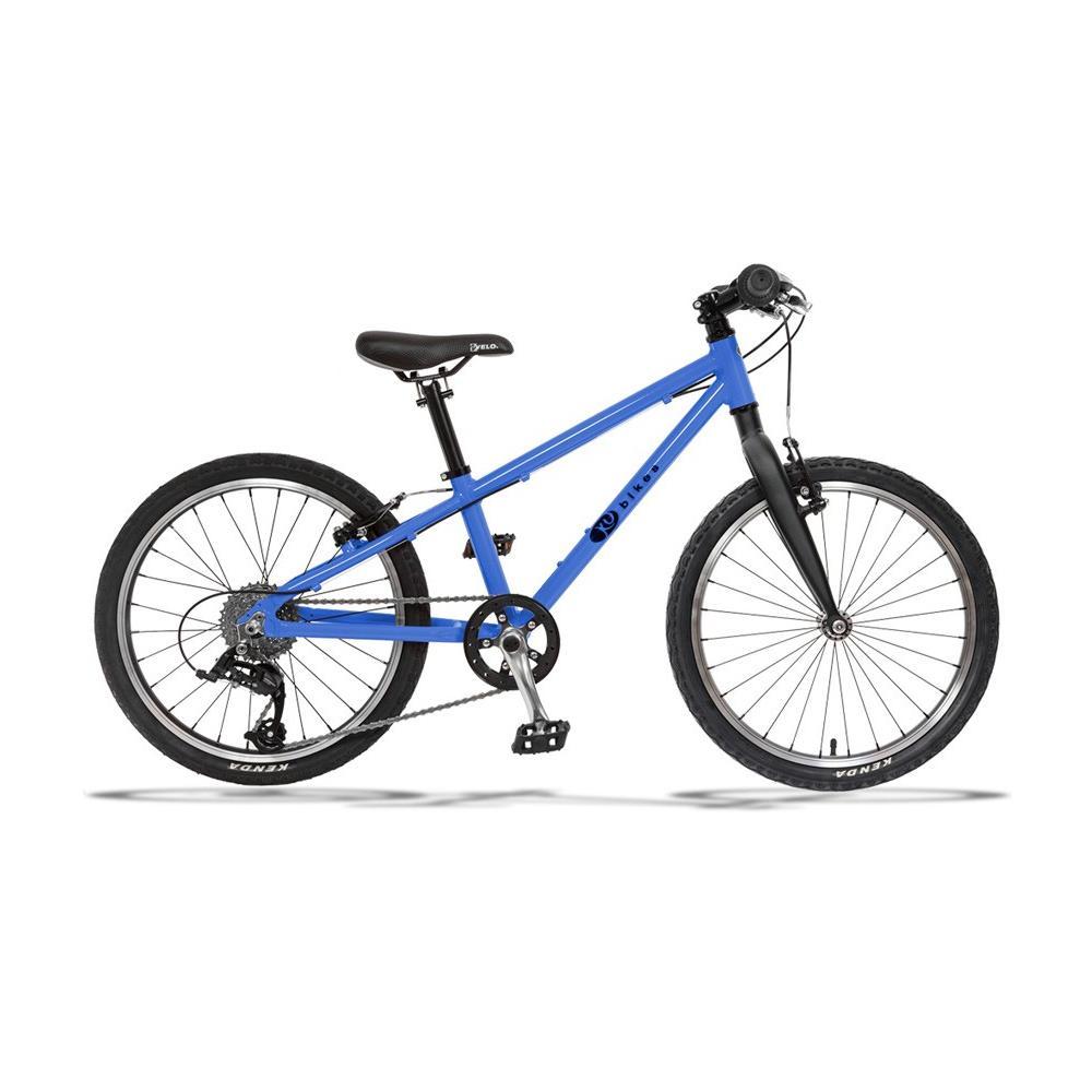 Lekki rower KUbikes 20 Basic-8 niebieski na kołach 20 cali, dla dziecka ok 120 cm, wiek 6 lat