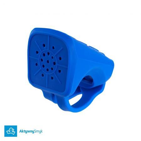 Niebieski klakson Micro Noise Maker pasuje do hulajnogi Micro i do rowerków biegowych