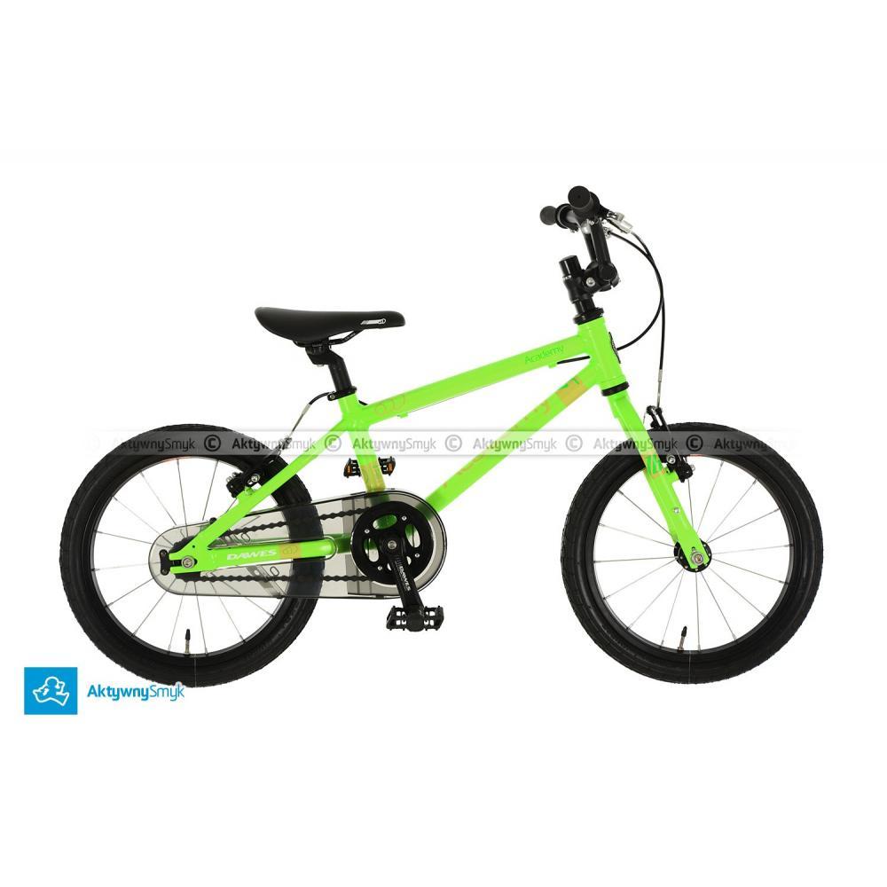 Lekki rower Dawas Academy 16 w kolorze zielonym