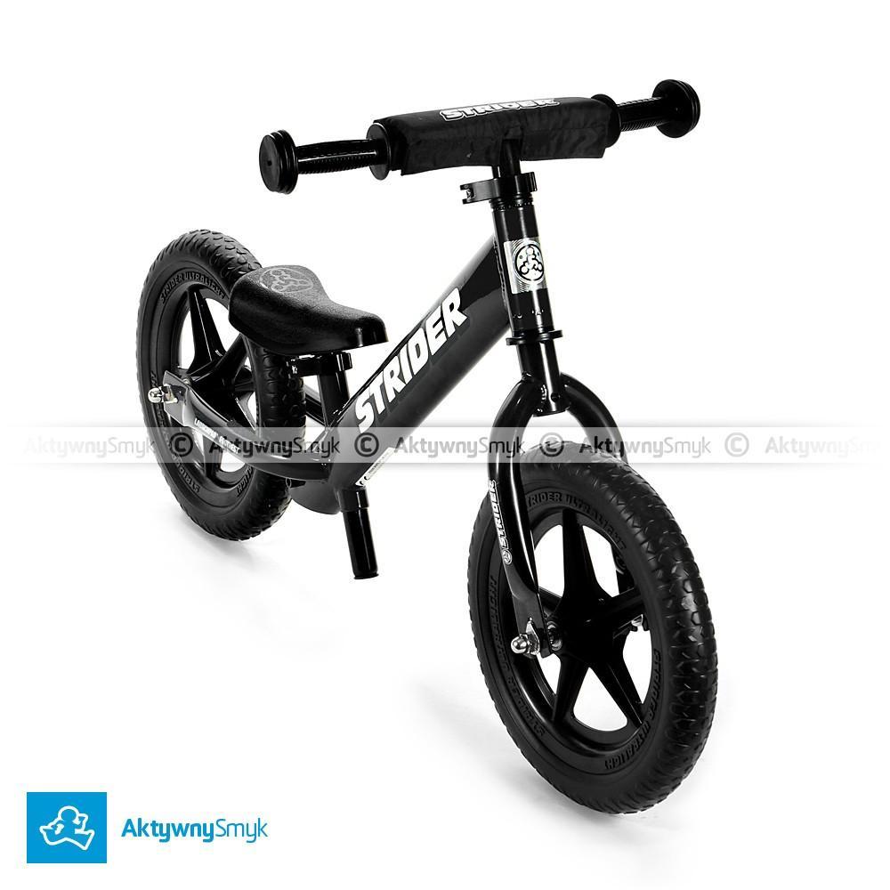 Rowerek biegowy STRIDER 12 Sport czarny