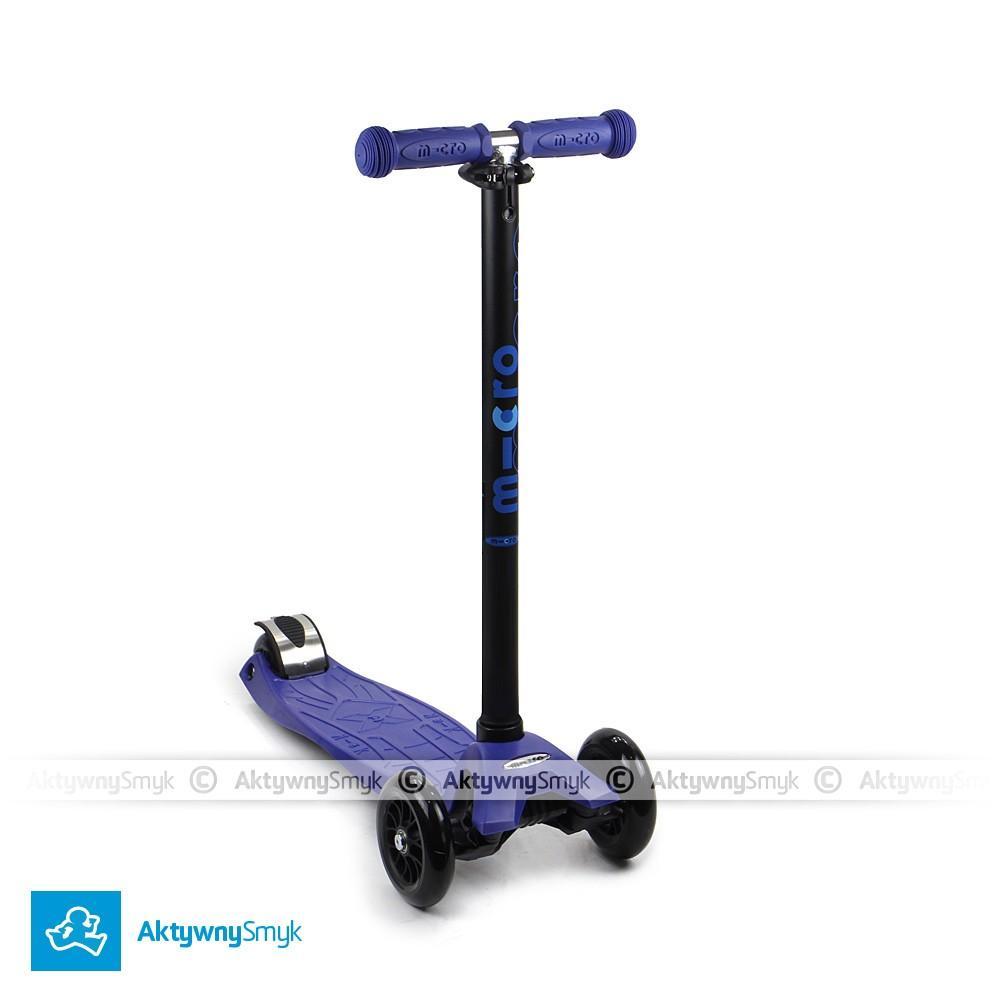 Hulajnoga Maxi Micro T-bar niebieska dla 5 latka