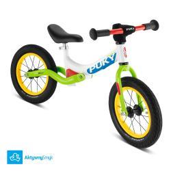 Amortyzowany rowerek biegowy Puky LR Ride zielony