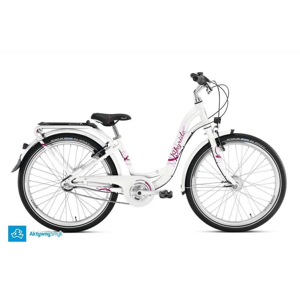 Biały rower Puky Skyride 24-3 Alu Light City
