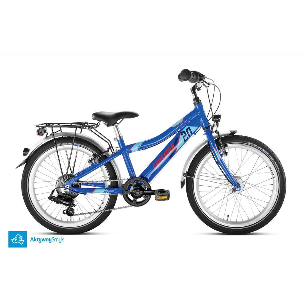 Niebieski rower Puky Crusader 20-6 Alu dla dziecka 6 lat, wzrost 120 cm