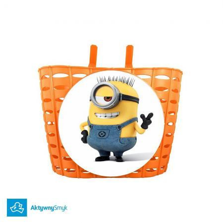 Pomarańczowy koszyczek Minion