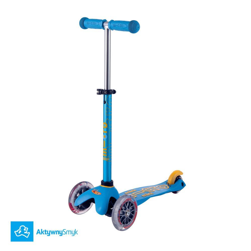 Hulajnoga Mini Micro Deluxe Ocean Blue (wzrost ok 85-90 cm)