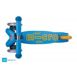 Hulajnoga Mini Micro Deluxe Ocean Blue (wzrost ok 85-90 cm) - sklep AktywnySmyk Warszawa Białobrzeska 5