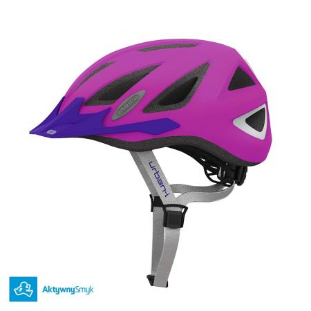 Kask Abus Urban-I v.2 Neon Pink