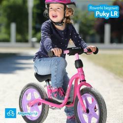 Rowerek biegowy Puky LR 1Br czerwony z hamulcem dla ponad 2 latka