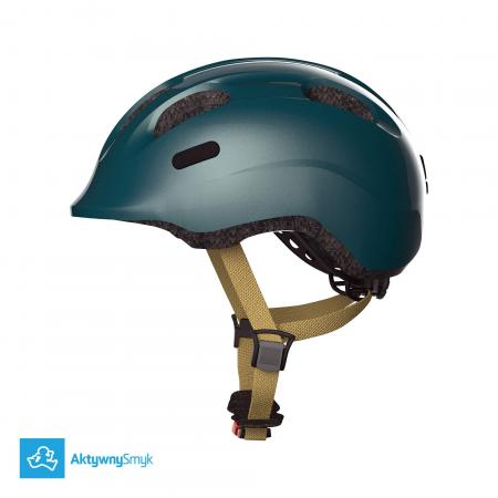 Ciemnozielony kask Abus Smiley 2.0 Royal