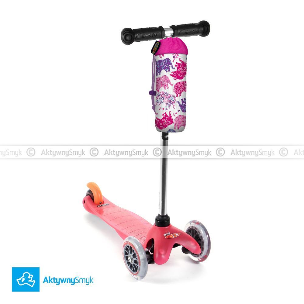 Hulajnoga Mini Micro różowa plus gratis pokrowiec Micro na bidon