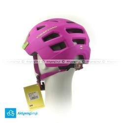 Kask Cratoni Maxster Pro pink-lime matt