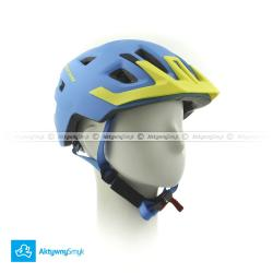 Kask Cratoni Maxster Pro blue-yellow matt