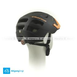 Kask Cratoni Maxster Pro black-orange mat