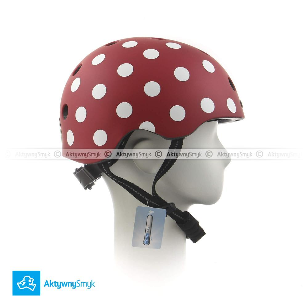 Kask Melon Dotty White