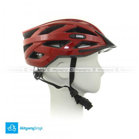 Kask Uvex i-vo red metallic