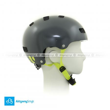 Kask Uvex Kid 3 dirtbike grey-lime