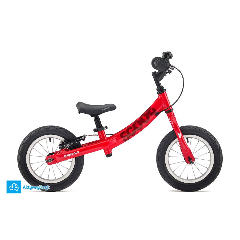 Czerwony Rowerek biegowy Ridgeback Scoot